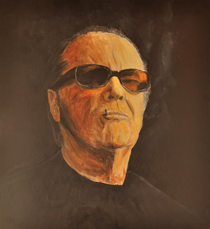 Jack Nicholson by JulioGonzalez